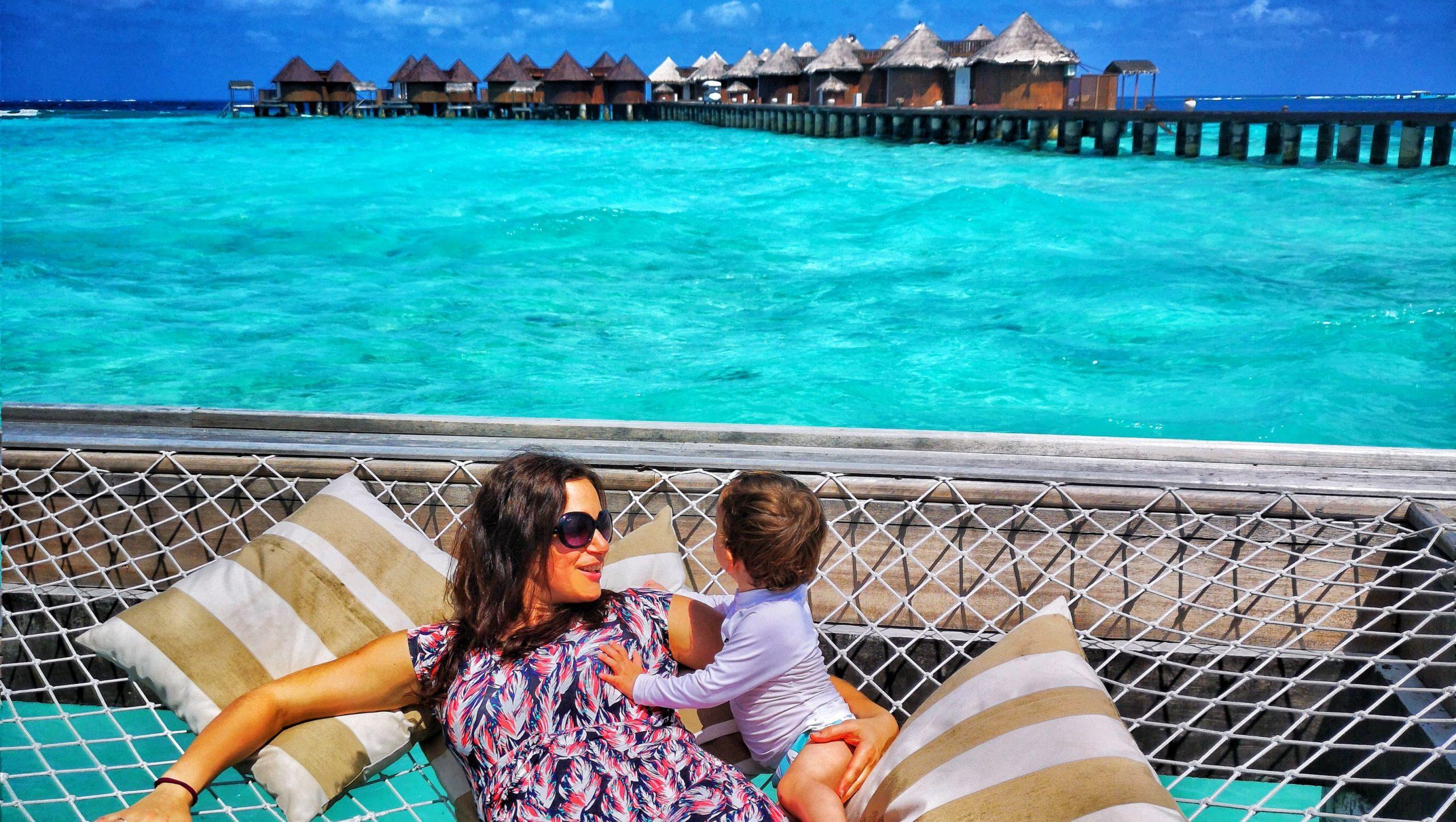 Maldív-szigetek várandósan, gyerekkel